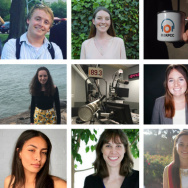 KPCC's summer 2017 interns.