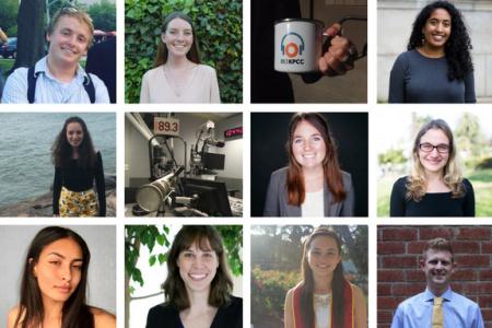 KPCC's summer 2017 interns.