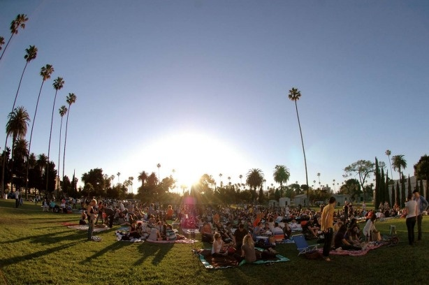 Each Summer, thousands of film fans flock to Hollywood Forever Cemetery at dusk for Cinespia.
