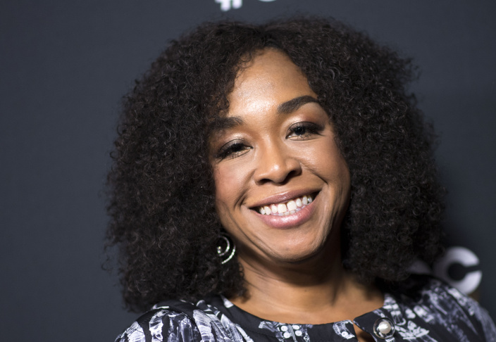 In this file photo, creator/executive producer Shonda Rhimes attends the 300th
