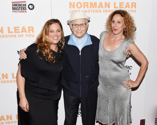 Actor Jesse Eisenberg, Kristen Stewart, Woody Allen, Blake Lively and Corey Stoll attend the