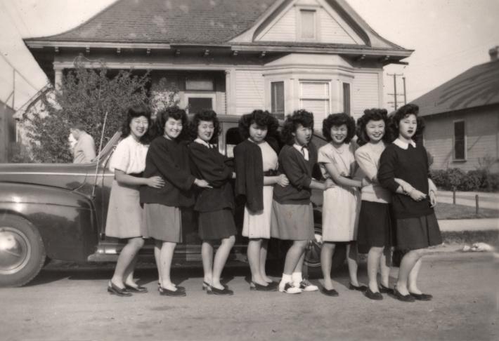 Nisei social clubs