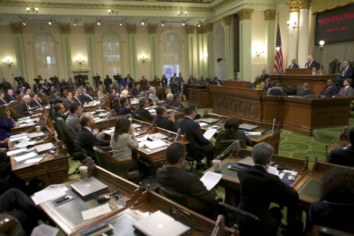Gov. Jerry Brown gave his third State of the State address since returning to California's top office.
