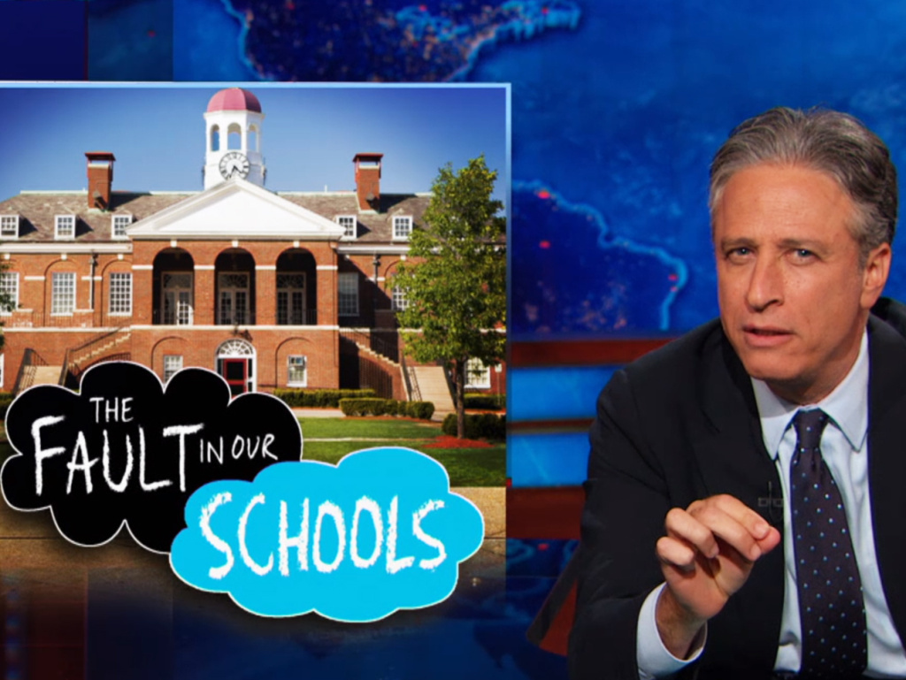 """Clearly universities are not making their campuses safe for women,"" Comedy Central's Jon Stewart noted in a recent segment focusing on rape and sexual assault on campus."