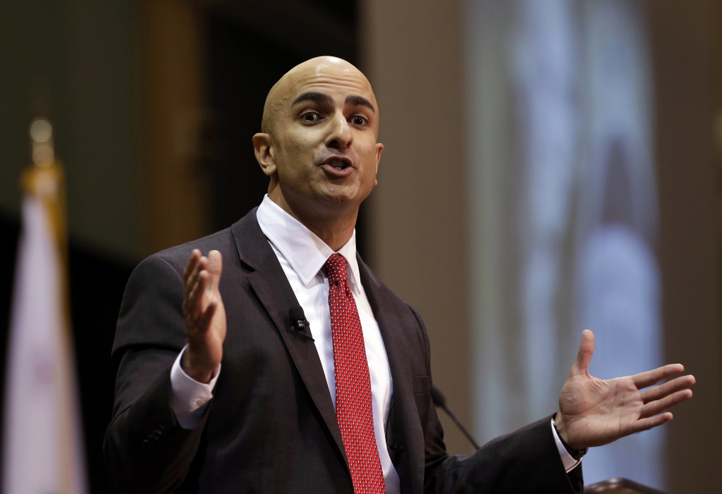Neel Kashkari, a former U.S. Treasury official, has put $1 million of his own money into his campaign for governor. (AP Photo/Rich Pedroncelli)