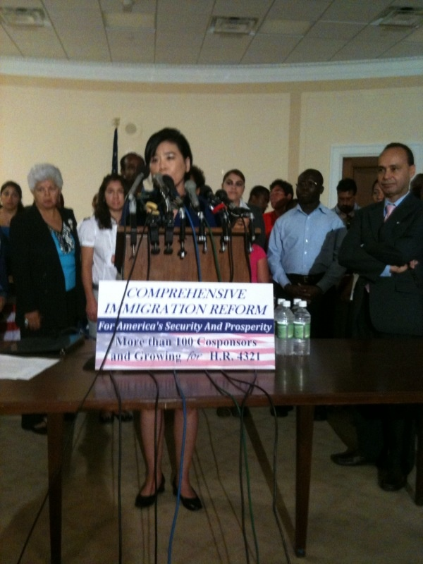 Congresswoman Judy Chu talks about immigration reform