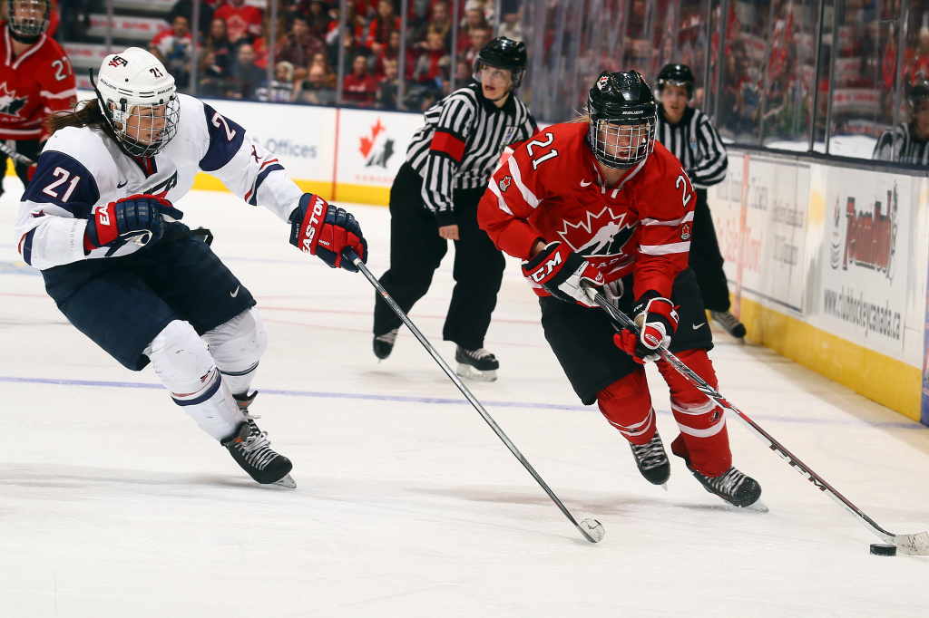 The rival teams have already clashed during a Sochi Olympics preparation game last December. They will face each other in an early round game Wednesday.
