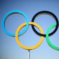 Olympics - Previews - Day - 4 summer olympics olympic rings