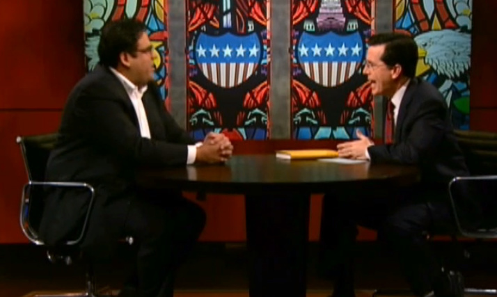 Still from U.S. Rep. Tony Cardenas's appearance on