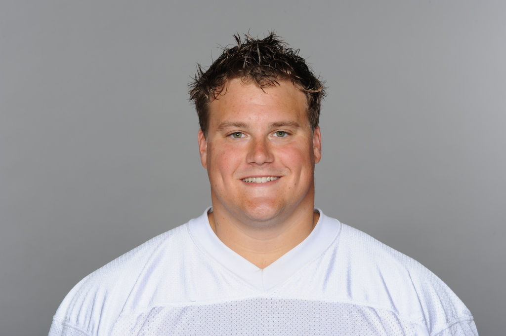 In this handout image provided by the NFL, Richie Incognito of the Miami Dolphins poses for his NFL headshot circa 2011 in Miami, Florida.