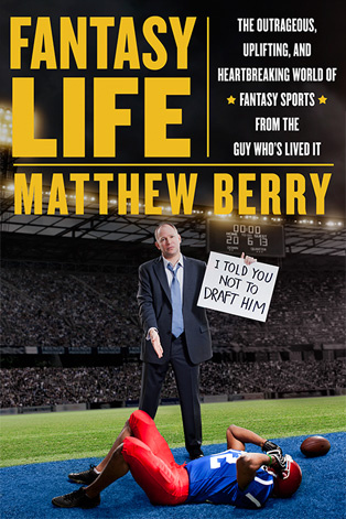 Cover for Matthew Berry's book,