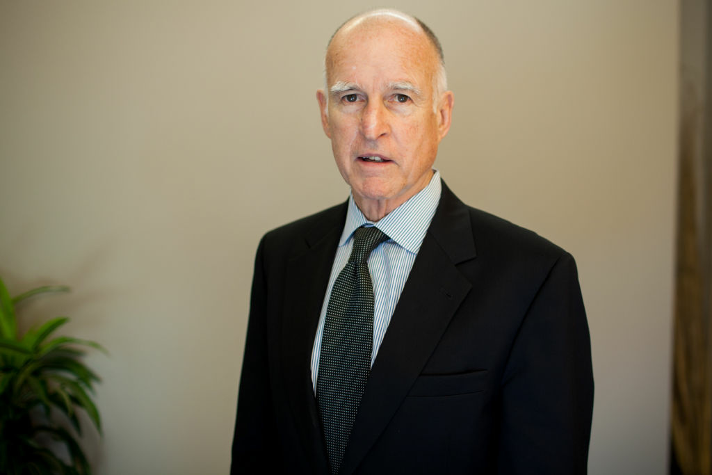 Governor Brown at KPCC.