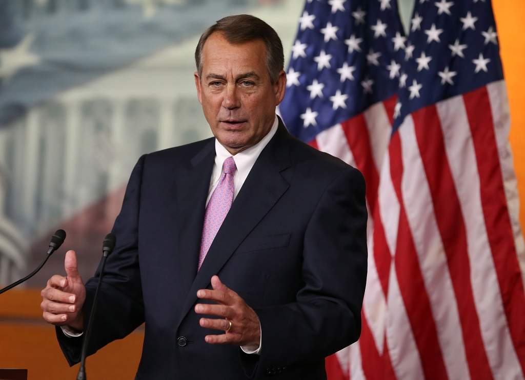 John Boehner advocates for piecemeal changes to the immigration system.