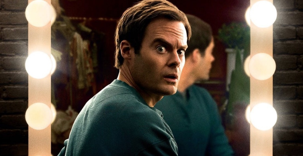 Bill Hader plays a hitman who discovers acting in the HBO series,