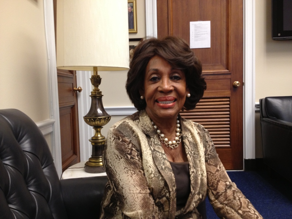 LA Congresswoman Maxine Waters is the ranking Democrat on the House Financial Services Committee.
