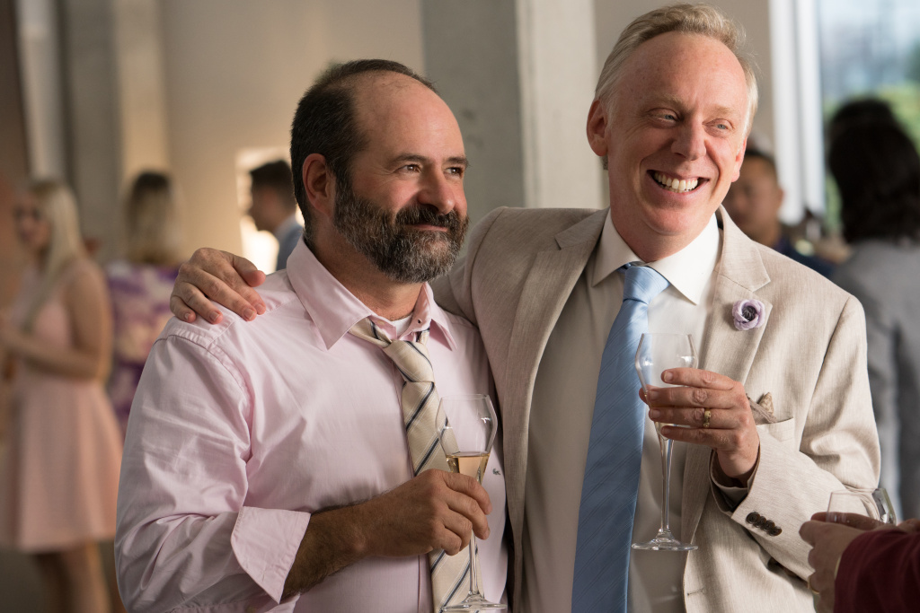 """Cinematographer Xavier Grobet and writer-director Mike White play the characters Xavier and Nick in """"Brad's Status."""""""