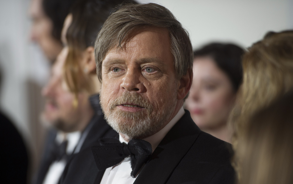 Mark Hamill attends the European Premiere of 'Star Wars: The Last Jedi' at Royal Albert Hall on December 12, 2017 in London, England.