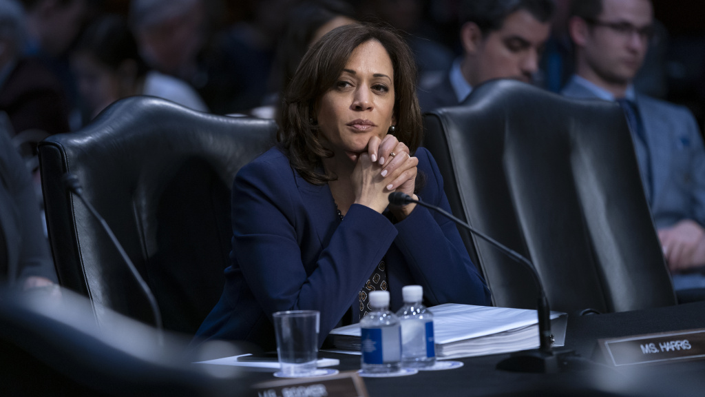 Sen. Kamala Harris, D-Calif., one of several Senate Democrats who are running for president in 2020, has been cautious to back a proposal to end the legislative filibuster.