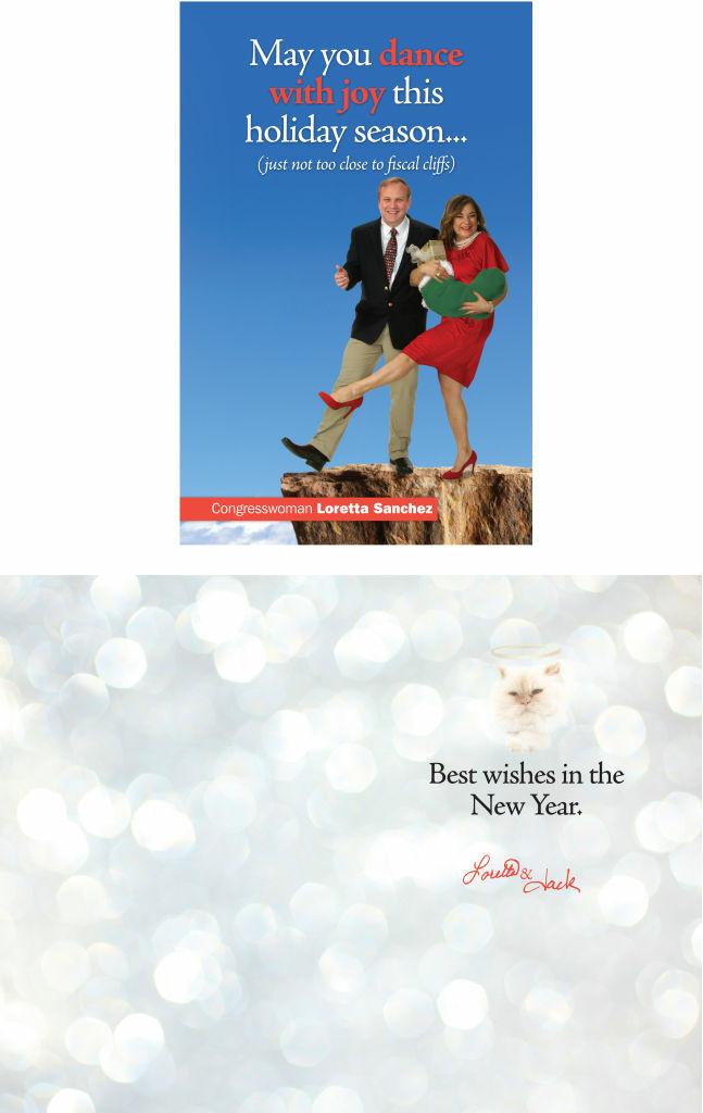 A holiday tradition: Loretta Sanchez\'s Christmas card | 89.3 KPCC