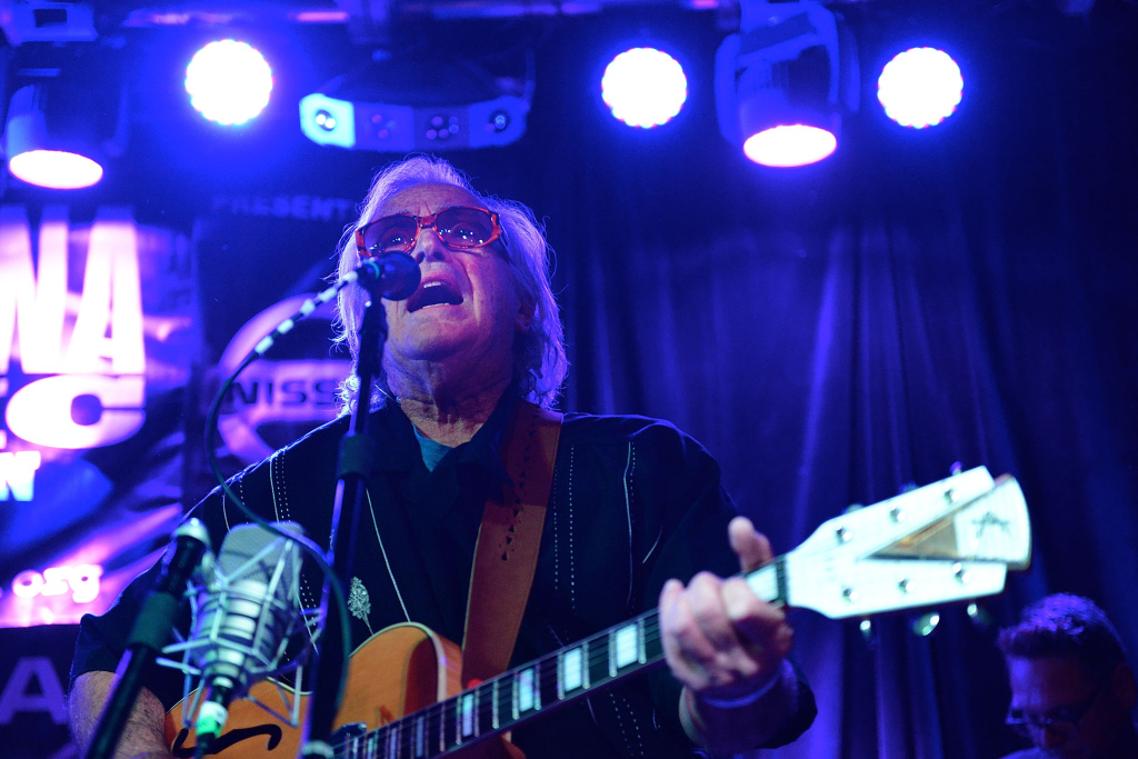 NASHVILLE, TN - SEPTEMBER 17:  Ry Cooder performs at 3rd and Lindsley for the Americana Music Festival at  on September 17, 2015 in Nashville, Tennessee.  (Photo by Beth Gwinn/Getty Images for Americana Music)