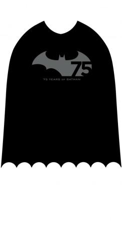 A Batman graphic chronicling Batman's 75 years of history.