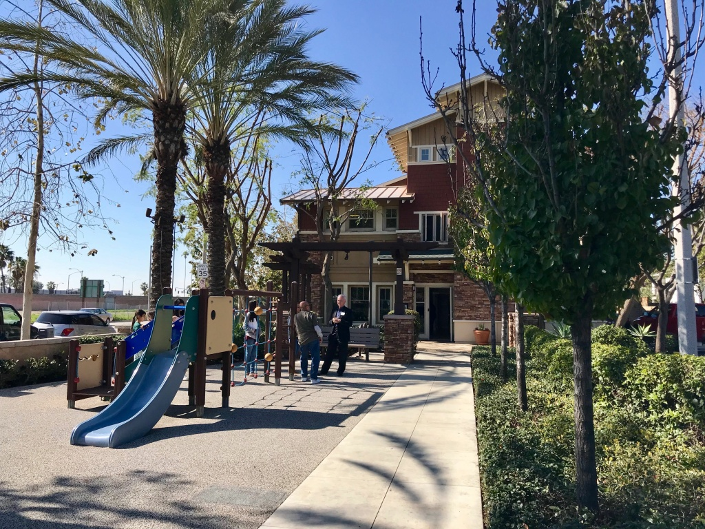 Diamond Apartment Homes in Anaheim is a permanent supportive housing complex for formerly homeless people with mental illness.