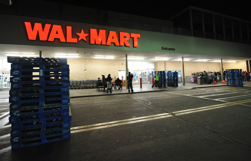 Wal-Mart store in Los Angeles, California. Is an influx of Walmart stores coming to LA?