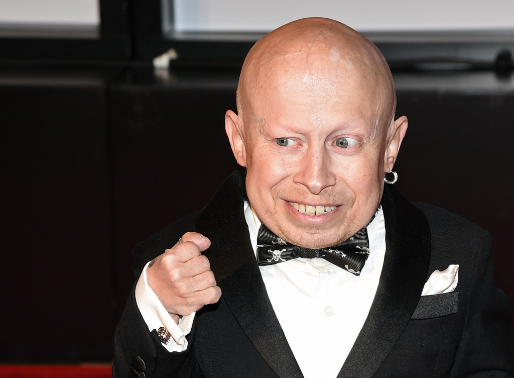 Actor Verne Troyer attends Muhammad Ali's Celebrity Fight Night XXI in Phoenix on March 28, 2015.