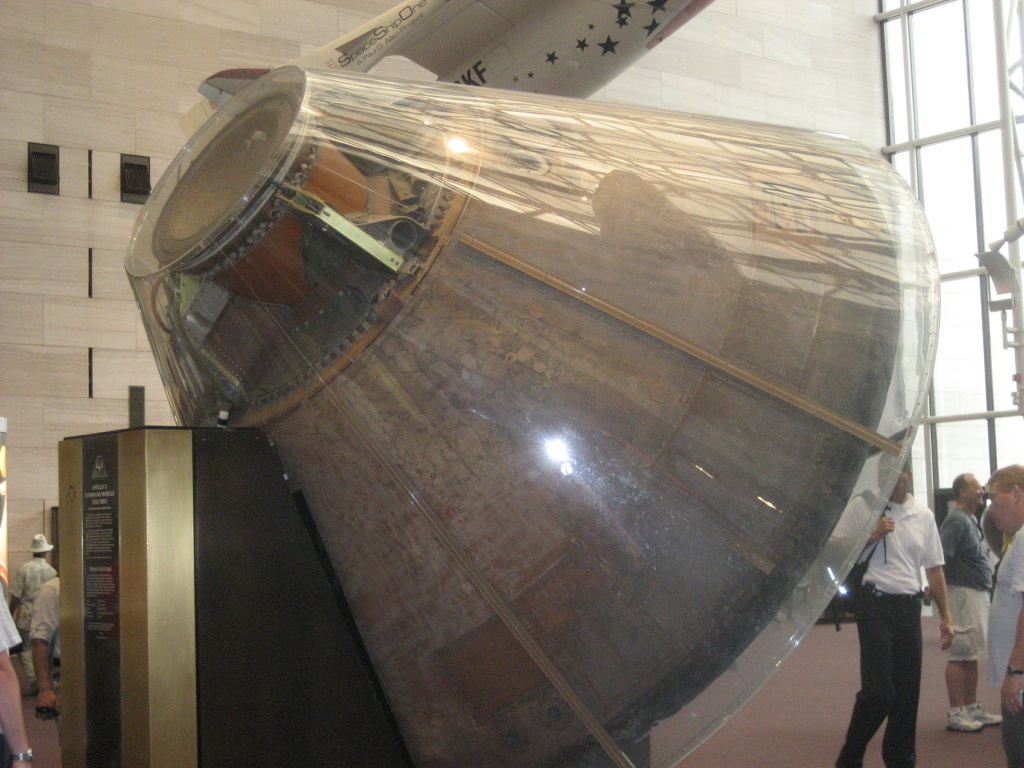 Apollo 11 Command Module at the Smithsonian National Air and Space Museum