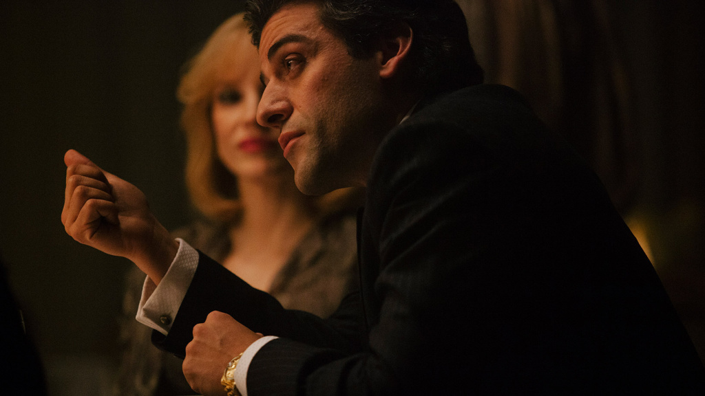 Oscar Isaac plays Abel Morales in