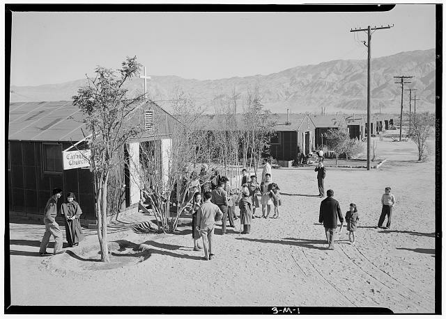 The Manzanar Visitor Center.
