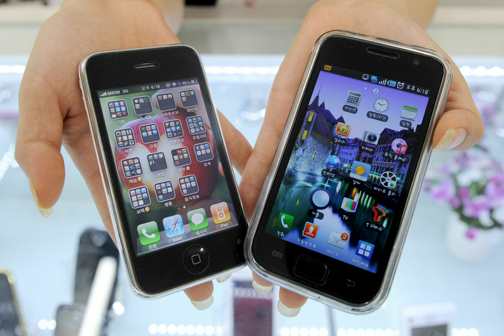 Samsung Electronics' Galaxy S mobile phone (R) and Apple's iPhone 3G. Apple's recent legal victory over Samsung has put other phone giants on notice, and could alter the industry.