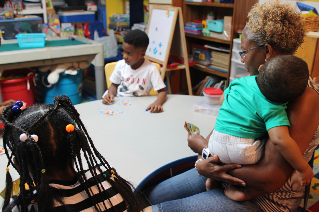 Tonia McMillian runs a licensed family child care center in Bellflower.