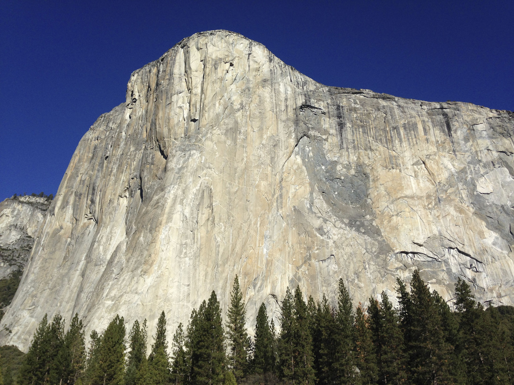 Slideshow 2 Men Reach Top Of Yosemite S El Capitan In