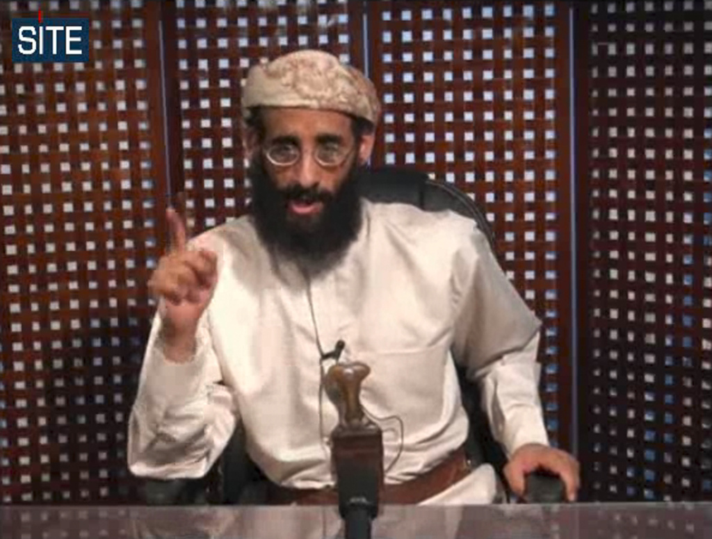 Anwar al-Awlaki, an al-Qaida leader born in the United States, speaks in a video message posted on radical websites. A previously secret memo released by a New York court lays out the legal justification for the drone-strike killing of al-Awlaki in Yemen in September 2011.