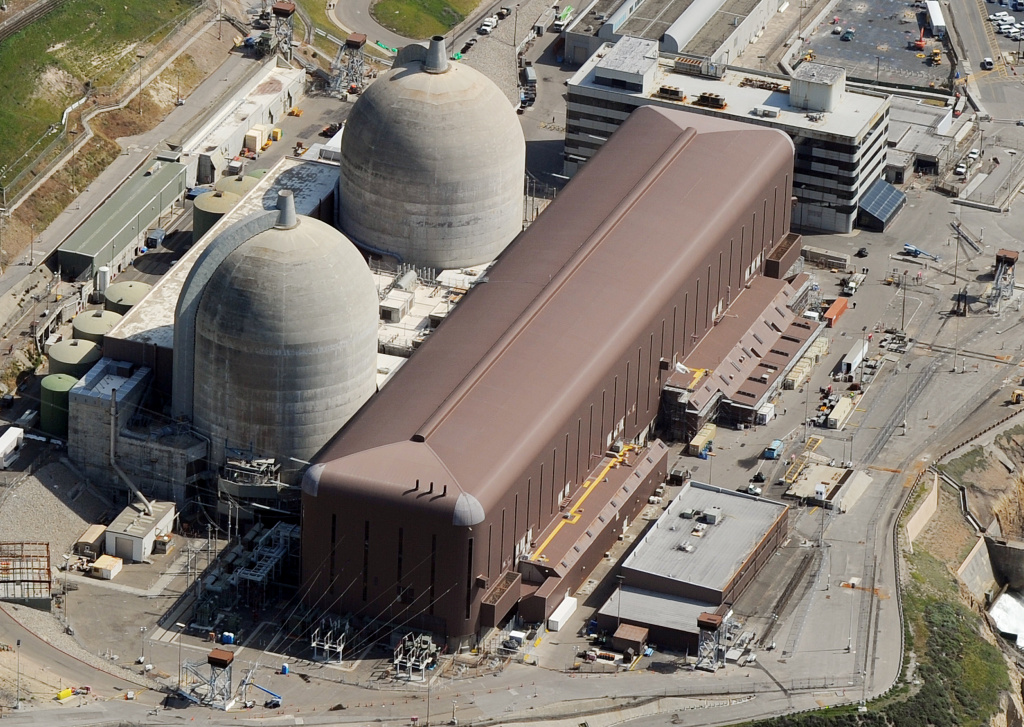 Aerial view of the Diablo Canyon Nuclear Power Plant in San Luis Obispo County, California, on March 17, 2011. The plant will close within the next decade. A new Brookings Institution study questions how California will continue to make ambitious carbon reductions without nuclear power.