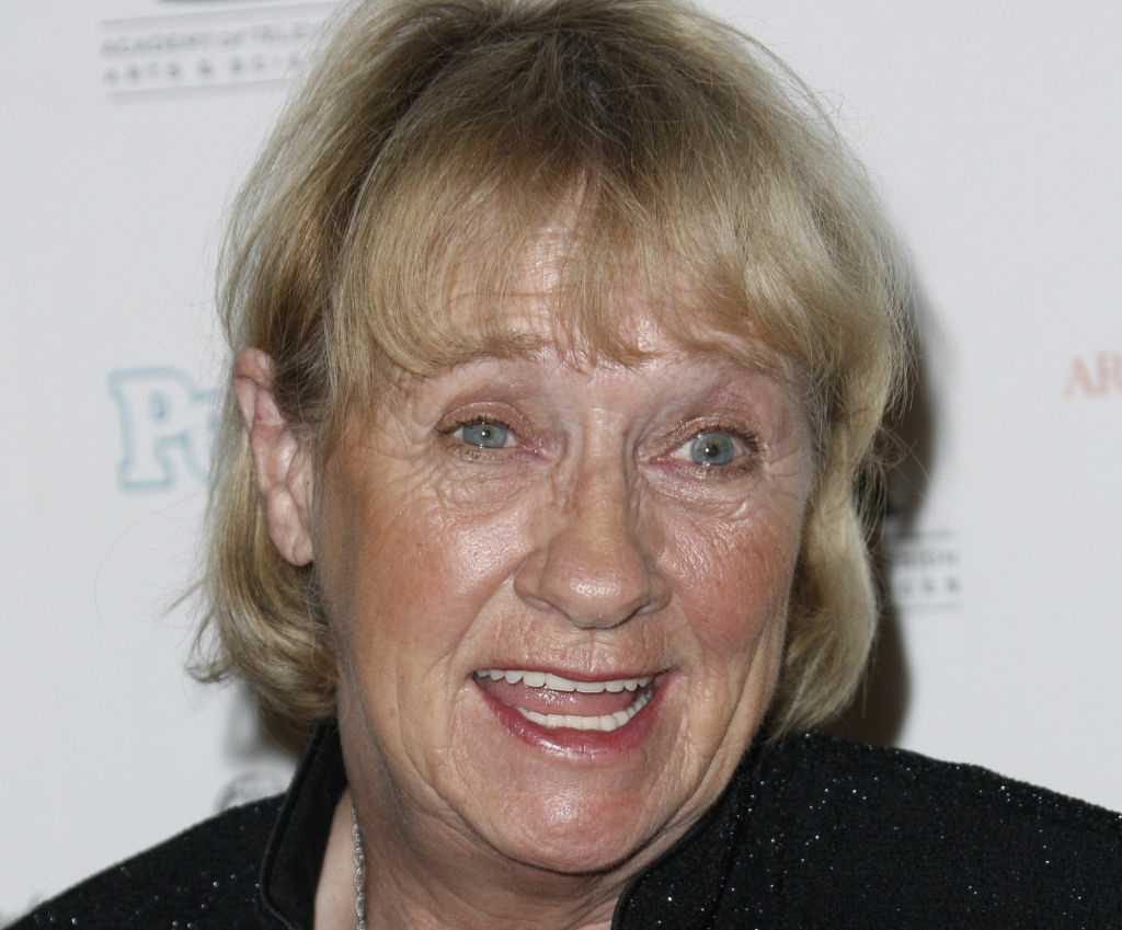 File photo: Kathryn Joosten arrives at the 2008 Primetime Emmy Awards Nominees for Outstanding Performance reception in Los Angeles.