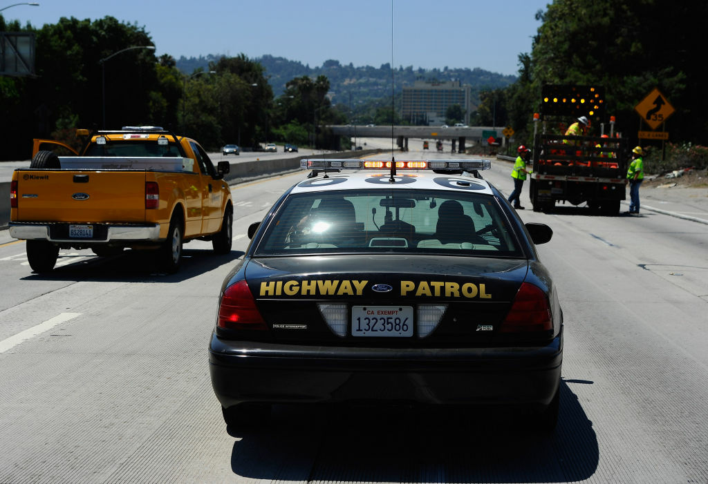 A California Highway Patrol cruiser, July 17, 2011 in Los Angeles.