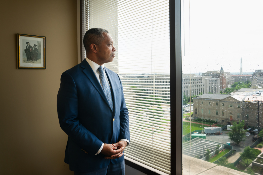 D.C. Attorney General Karl Racine, pictured in 2019, is hoping to change how the justice system handles cases involving 16- and 17-year-olds who are charged as adults.