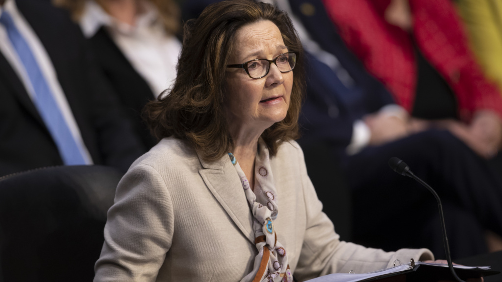 Gina Haspel, the nominee to be CIA director, testifies at a Senate intelligence committee hearing on May 9. Haspel now appears to have enough Senate support to win confirmation.