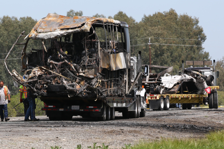 Bus Crash Kills 10 In Northern California