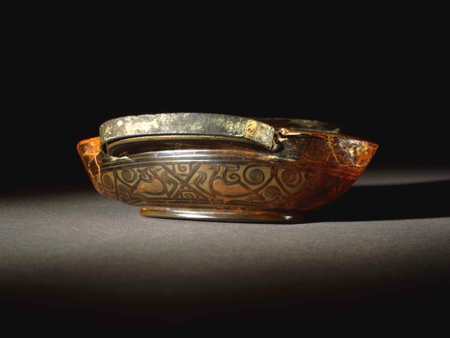 Chinese Han lacquer cup, China, 200BC - 200AD.