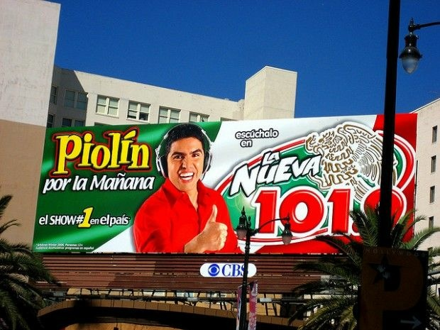 A Los Angeles billboard for the top-rated show, September 2006