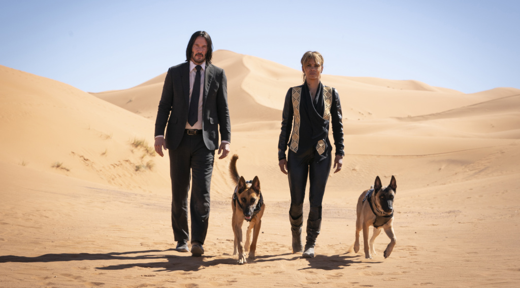 Keanu Reeves and Halle Berry star in John Wick Chapter 3: Parabellum