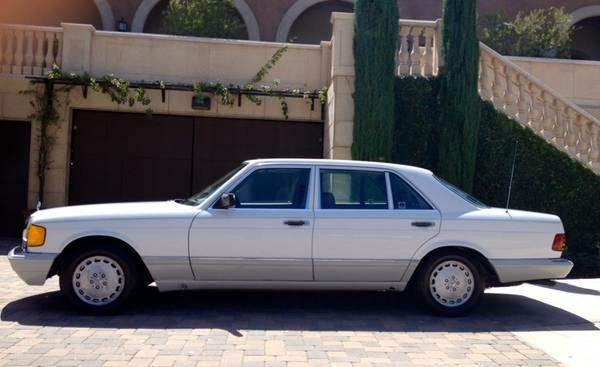 Joe DiMaggio's 1991 Mercedes, on Craigslist