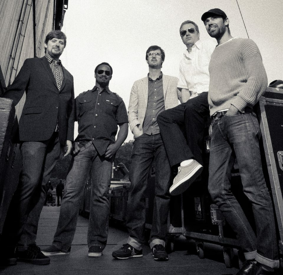 Promotional photo of the Greyboy Allstars.