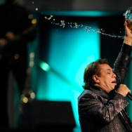 Singer Juan Gabriel performs during the 10th Annual Latin GRAMMY Awards at the Mandalay Bay Events Center November 5, 2009 in Las Vegas, Nevada.
