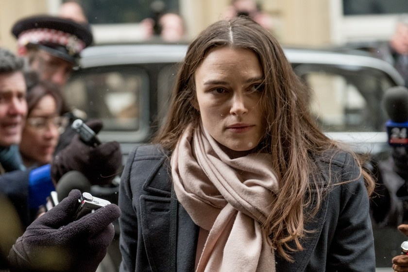 Kiera Knightly in Official Secrets