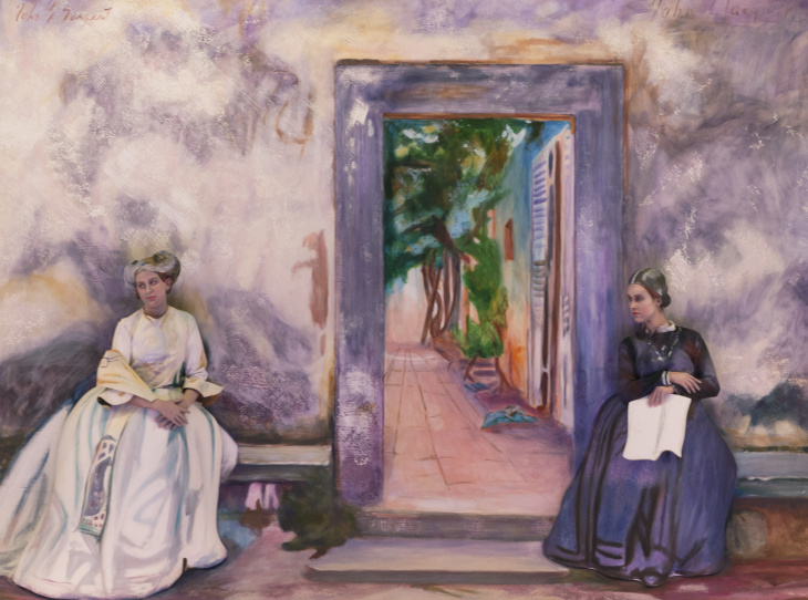 John Singer Sargent's The Garden Wall will be recreated as part of the Pageant of the Masters 2018 theme