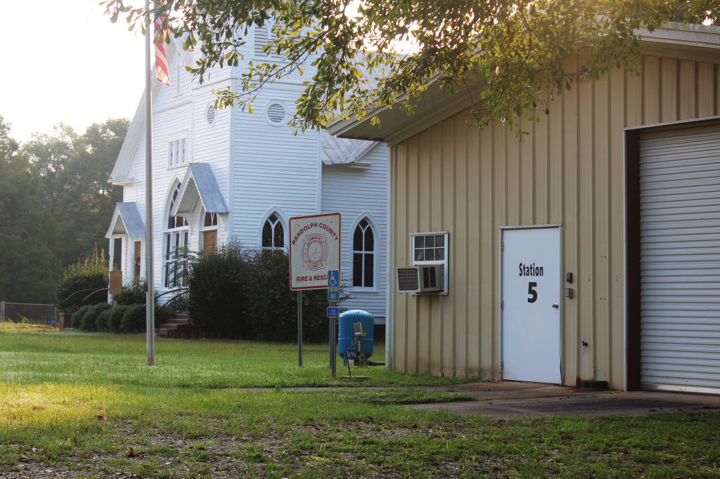 The fire station in Benevolence, Ga., was proposed as a polling place to close until the board of elections voted Friday morning to keep all county polls open for the upcoming election.